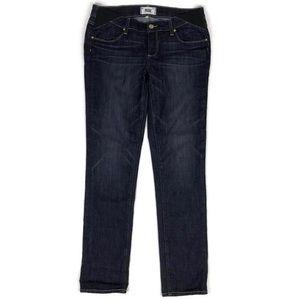 Paige Jimmy Jimmy Skinny Dark Wash Maternity Jeans
